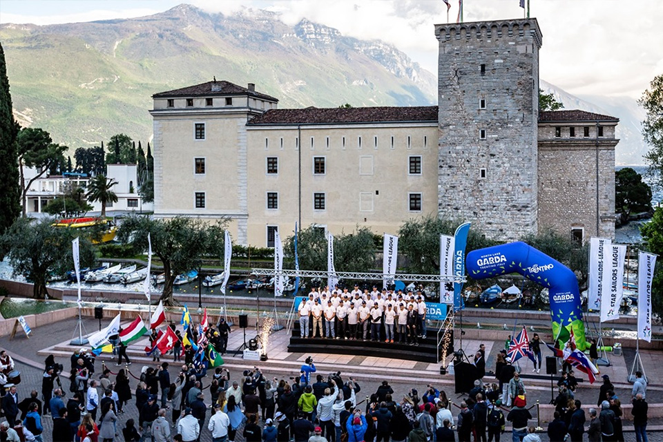 f6074f1815 Legends Gathered for First Ever Combined Star Class European Championship  and Star Sailors League Breeze Grand Slam in Riva del Garda, Italy