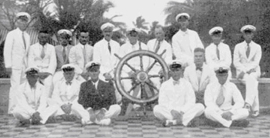 Skippers and crew of the Maracaibo Star fleet