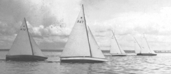 Stars sailing on Lake Maracaibo in 1939